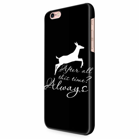 After All This Time Always Little Patronus Doe iPhone 6/6S/6S Plus | 7/7S/7S Plus | 8/8S/8S Plus| X/XS/XR/XS Max 3D Case