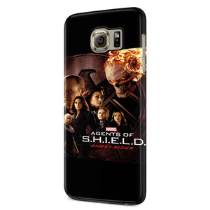 Agents Of S.H.I.E.L.D. Ghost Rider Samsung Galaxy S6 S6 Edge Plus/ S7 S7 Edge / S8 S8 Plus / S9 S9 plus 3D Case