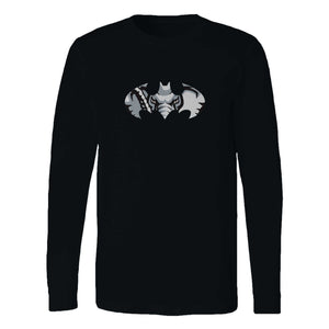 Alabama Batman Logo Long Sleeve T-Shirt