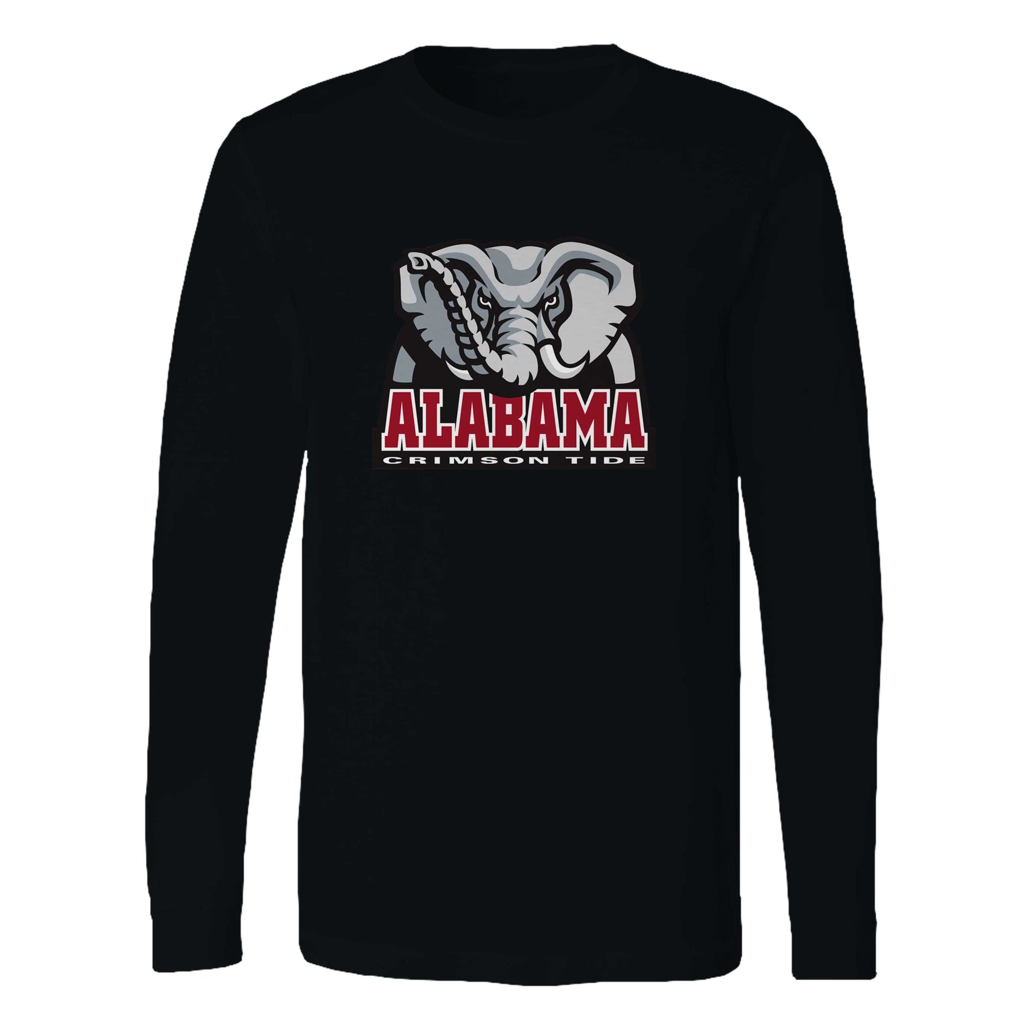 Alabama Elephant Logo Long Sleeve T-Shirt