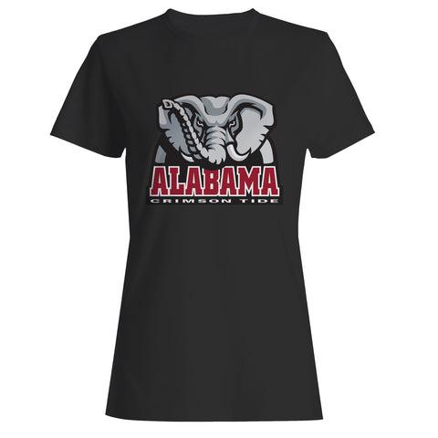 Alabama Elephant Logo Woman's T-Shirt