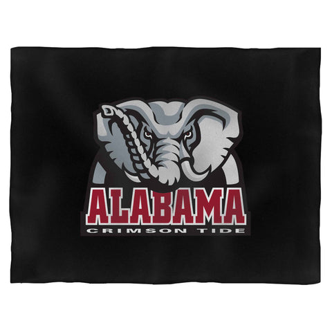 Alabama Elephant Logo Blanket