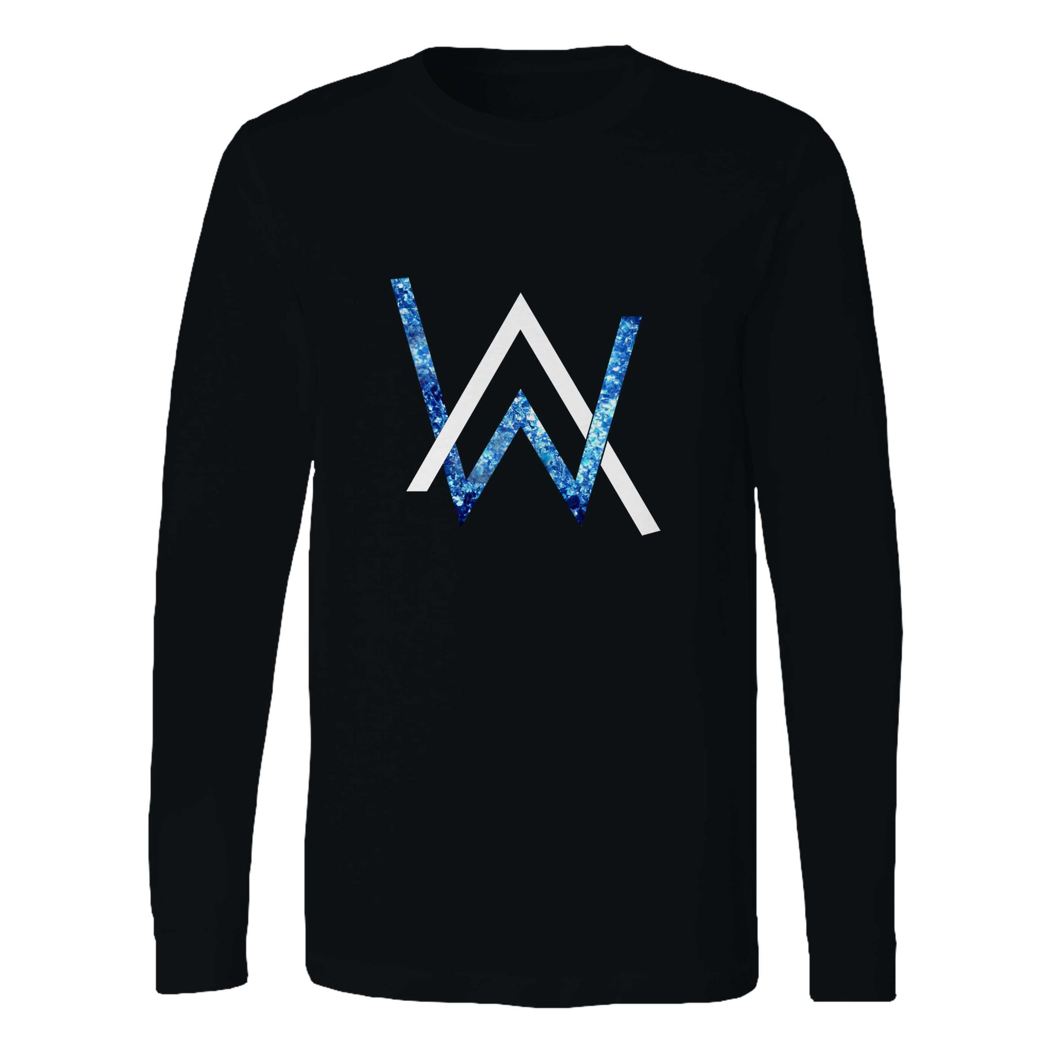 Alan Walker Emblem Glitter Long Sleeve T-Shirt