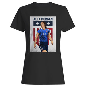 Alex Morgan Fan Training Woman's T-Shirt