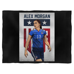 Alex Morgan Fan Training Blanket