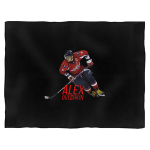 Alex Ovechkin Fight Macth Blanket