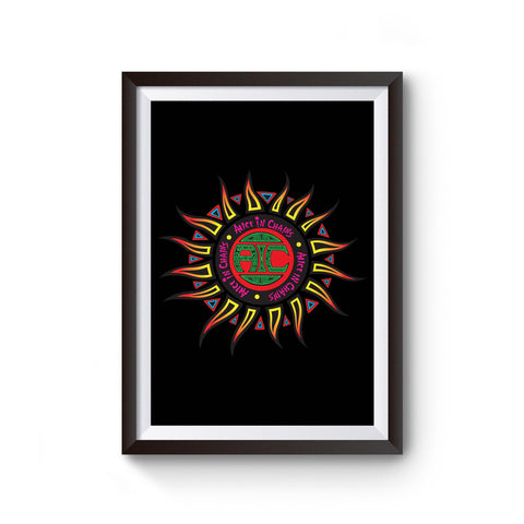 Alice In Chains Sun Logo Poster