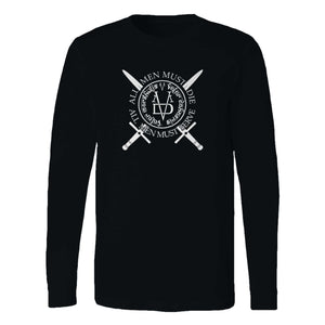 All Men Must Serve Nebula Wall Game Of Throne Long Sleeve T-Shirt