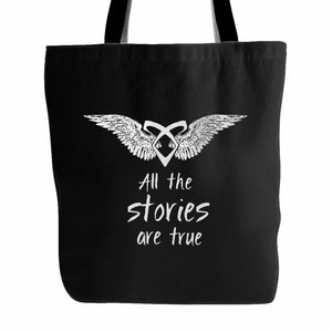 All Stories Are True Tote Bag
