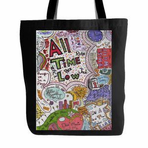 All Time Low Tote Bag