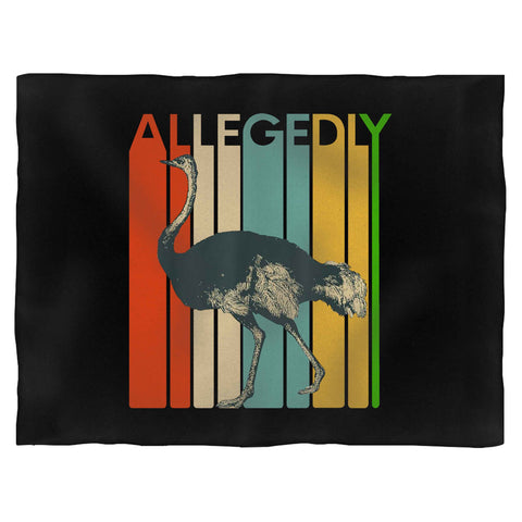 Allegedly Ostrich 2 Blanket