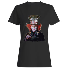 Almost Alice The Mad Hatter Woman's T-Shirt