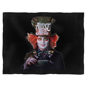 Almost Alice The Mad Hatter Blanket