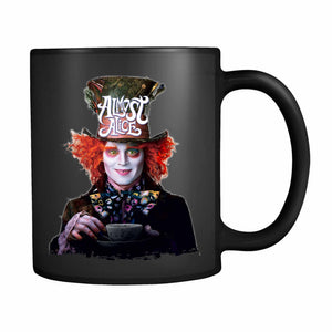 Almost Alice The Mad Hatter 11oz Mug