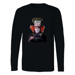 Almost Alice The Mad Hatter Long Sleeve T-Shirt