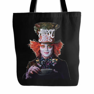 Almost Alice The Mad Hatter Tote Bag
