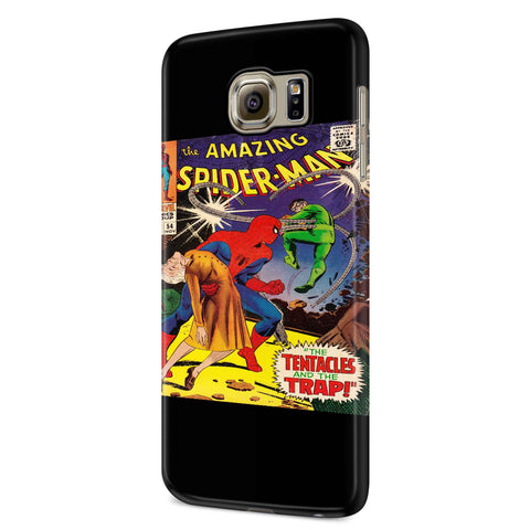 Amazing Spider-Man The Tentacles And The Trap Samsung Galaxy S6 S6 Edge Plus/ S7 S7 Edge / S8 S8 Plus / S9 S9 plus 3D Case