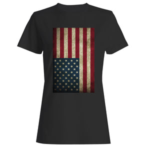 America Flag Woman's T-Shirt