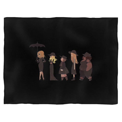 American Horror Story Cartoon Blanket
