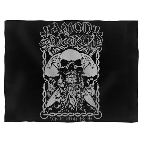 Amon Amarth Bearded Skull Blanket