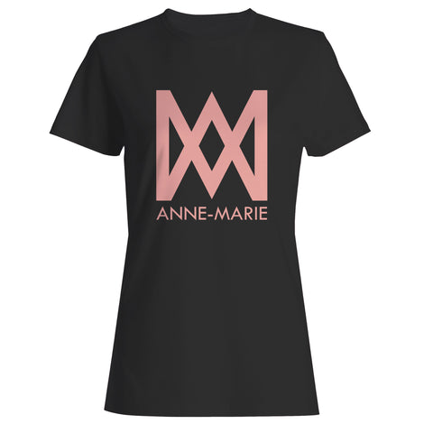 Anne Marie Logo Text Woman's T-Shirt