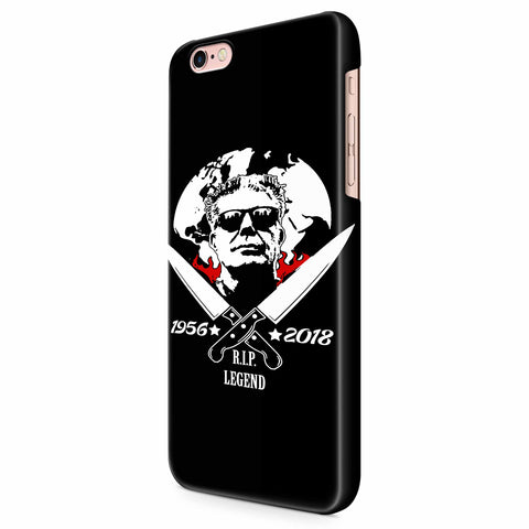 Anthony Bourdain American Celebrity Chef iPhone 6/6S/6S Plus | 7/7S/7S Plus | 8/8S/8S Plus| X/XS/XR/XS Max 3D Case