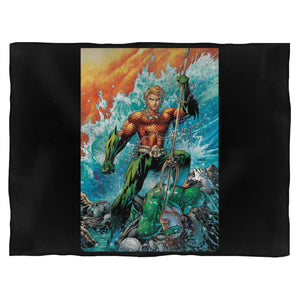 Aquaman Vs Green Lantern Blanket