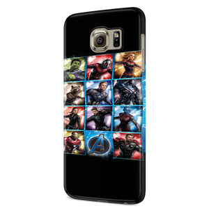 Avengers Endgame Marvel Movie Samsung Galaxy S6 S6 Edge Plus/ S7 S7 Edge / S8 S8 Plus / S9 S9 plus 3D Case