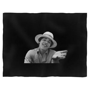 Barack Obama Youth Funny Blanket
