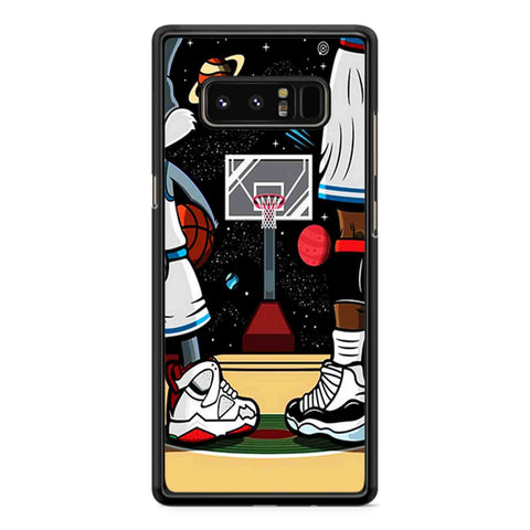 Basketball  Space Jam Hard Samsung Galaxy Note 7 /Note 8 / Note 9 Case