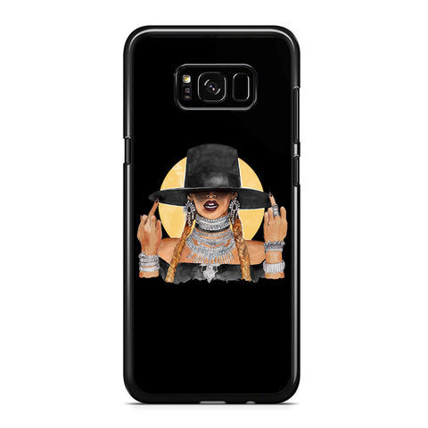 Beyonce Middle Finger Singer Art Samsung Galaxy S8 / S8 Plus Case