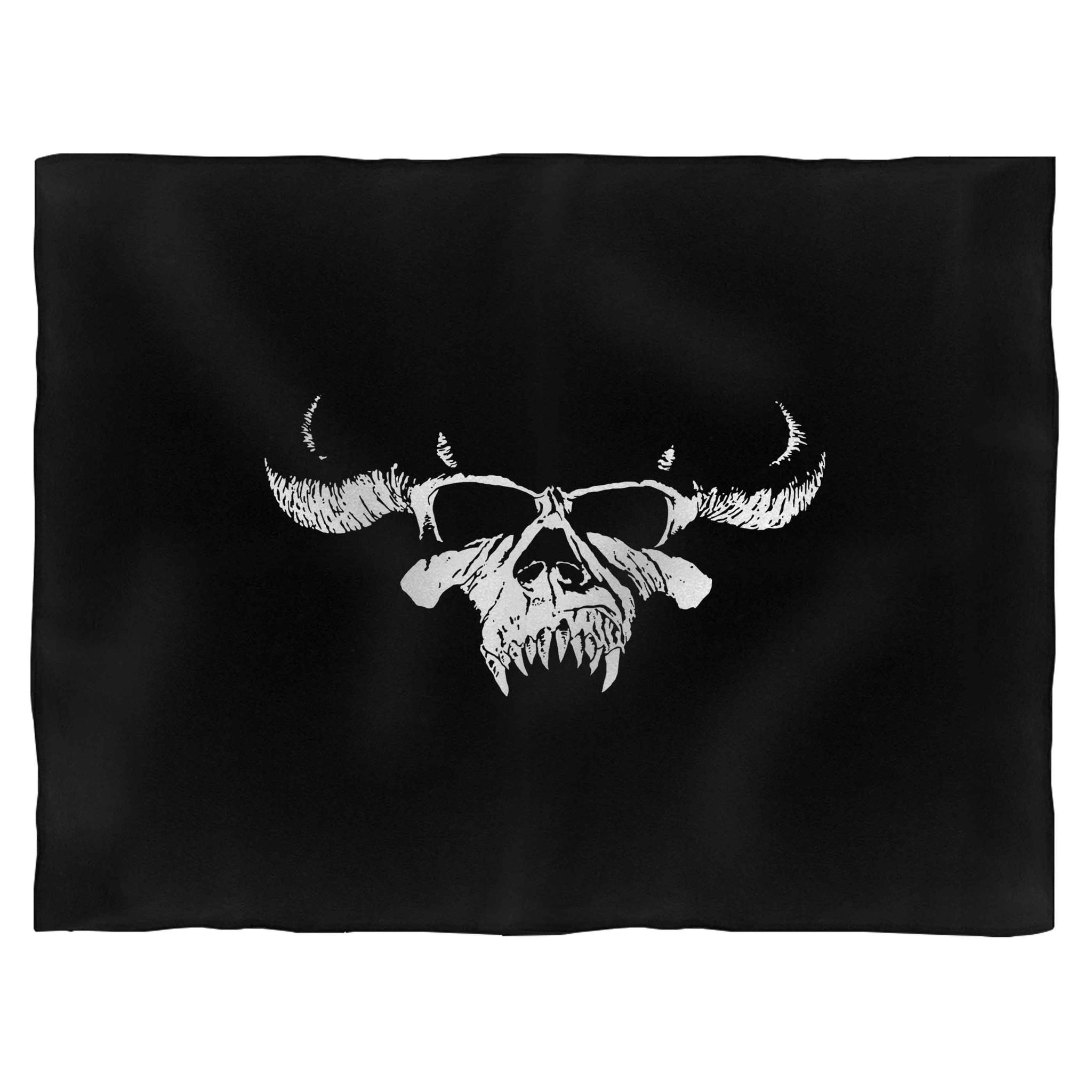 Big Skull Fiend Danzig Horror Blanket