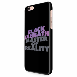 Black Sabbath Master Of Reality iPhone 6/6S/6S Plus | 7/7S/7S Plus | 8/8S/8S Plus| X/XS/XR/XS Max 3D Case