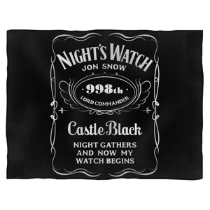 Blacknights Watch Jd Blanket