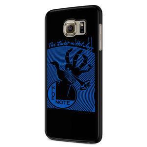 Blue Note The Finest In Hot Jazz Samsung Galaxy S6 S6 Edge Plus/ S7 S7 Edge / S8 S8 Plus / S9 S9 plus 3D Case