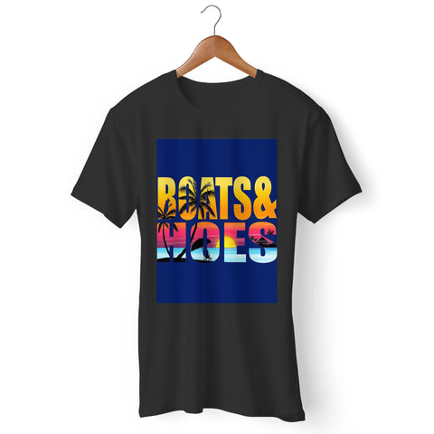 Boats And Hoes Music Man's T-Shirt