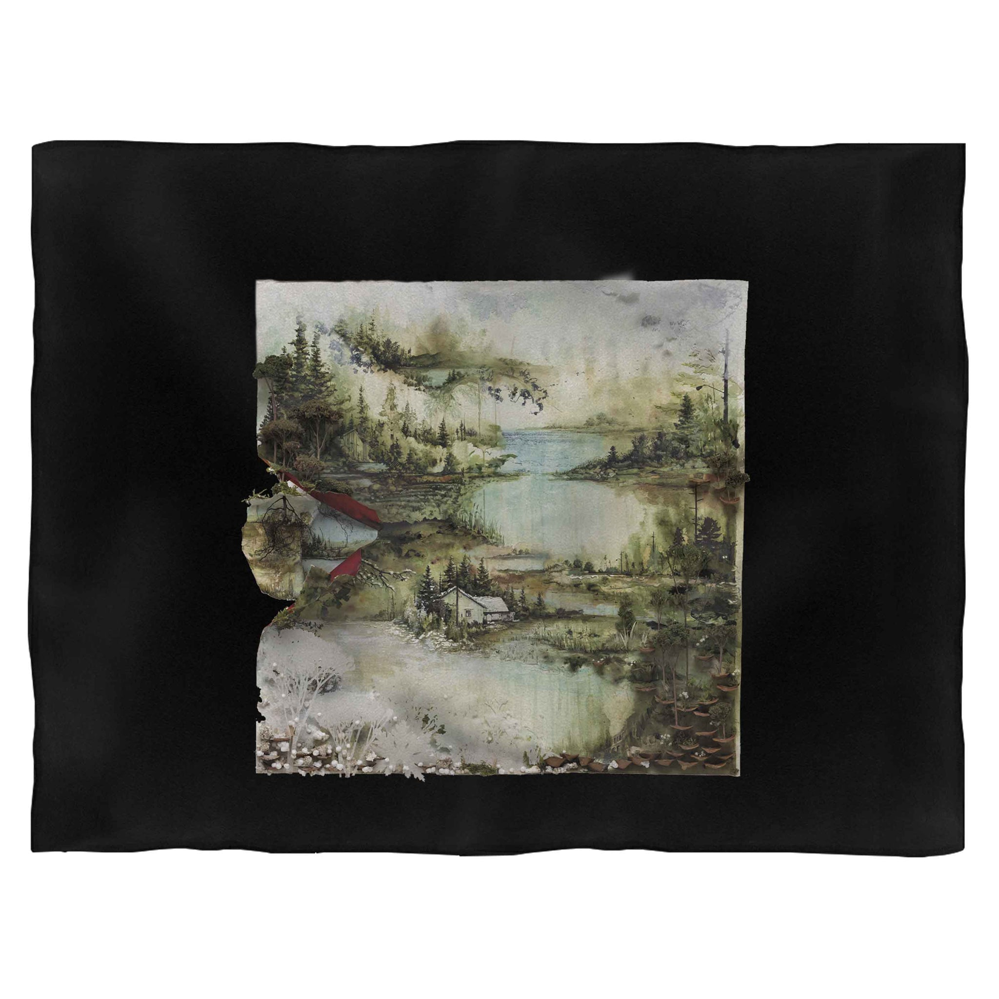 Bon Iver Album Cover Blanket