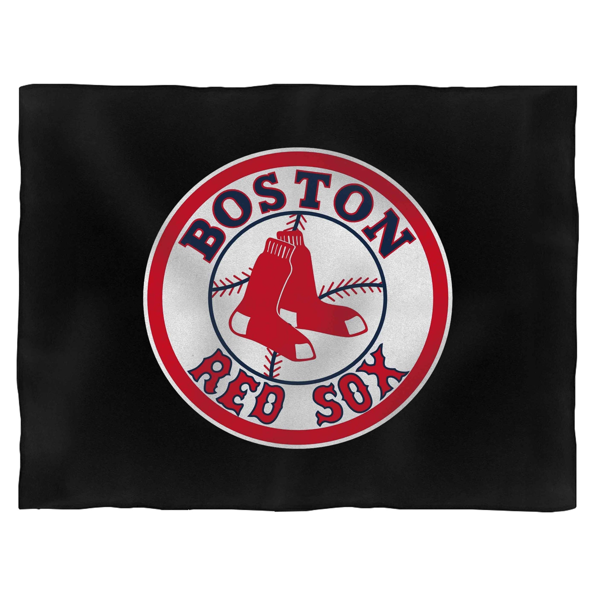 Boston Red Sox Logo Blanket