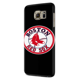 Boston Red Sox Logo Samsung Galaxy S6 S6 Edge Plus/ S7 S7 Edge / S8 S8 Plus / S9 S9 plus 3D Case