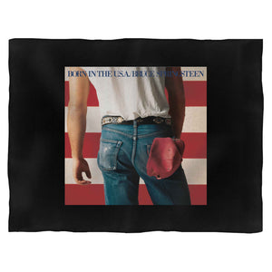 Bruce Springsteen The Boss Born In The Usa Blanket