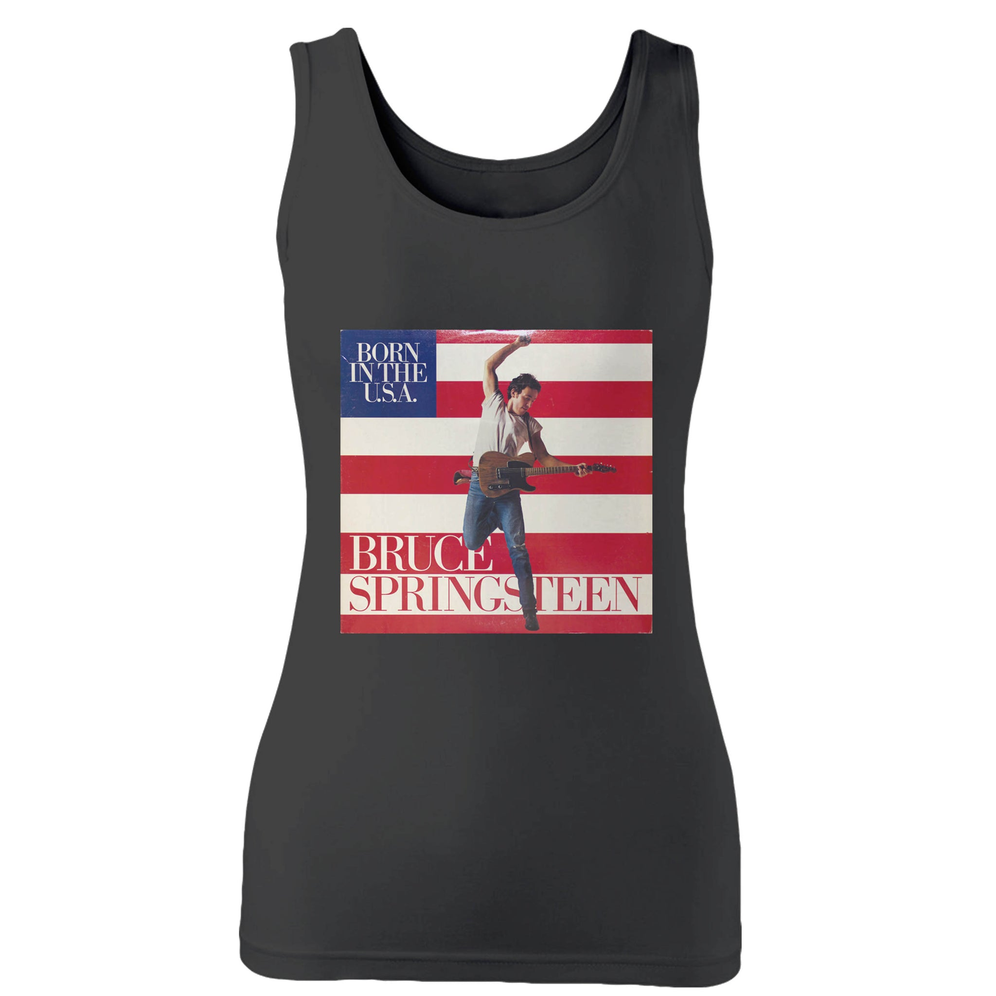 Bruce Springsteen The Boss Woman's Tank Top