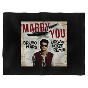 Bruno Mars Cover Blanket