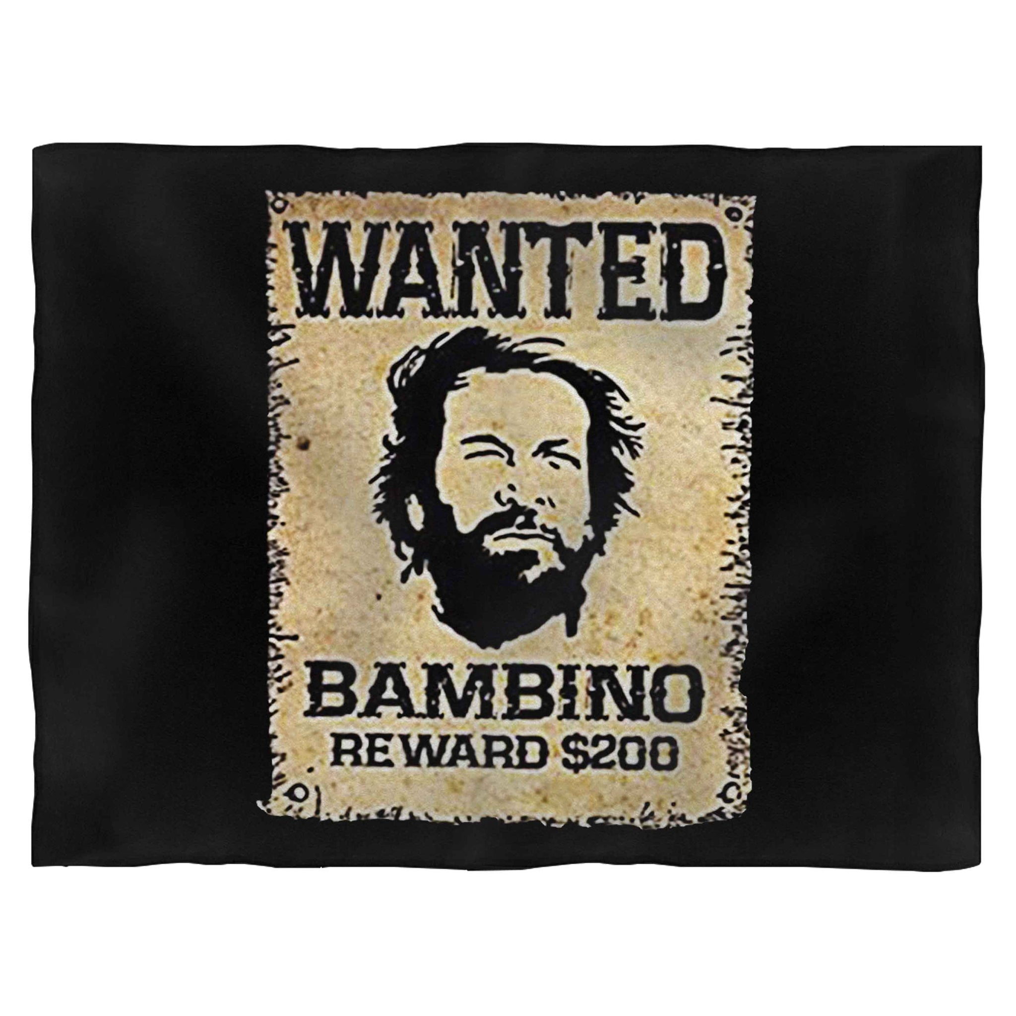 Bud Spencer Wanted Blanket