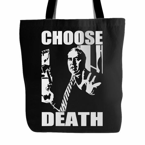 Budd Dwyer Choose Death Tote Bag