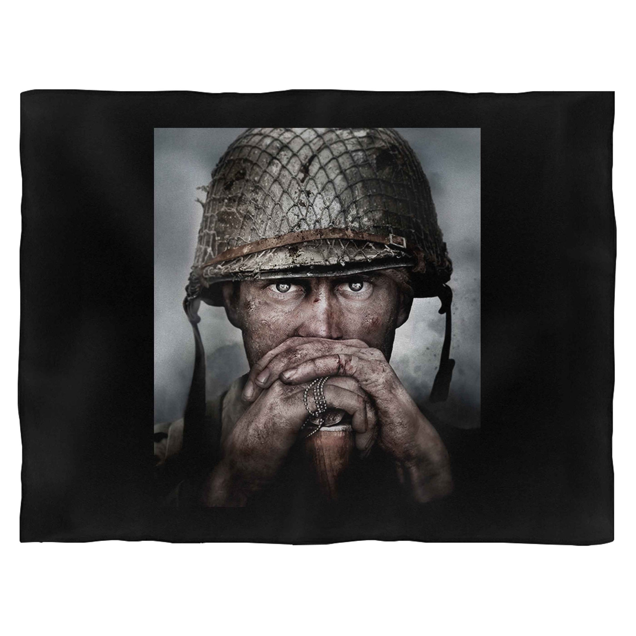 Call Of Duty Poster Blanket
