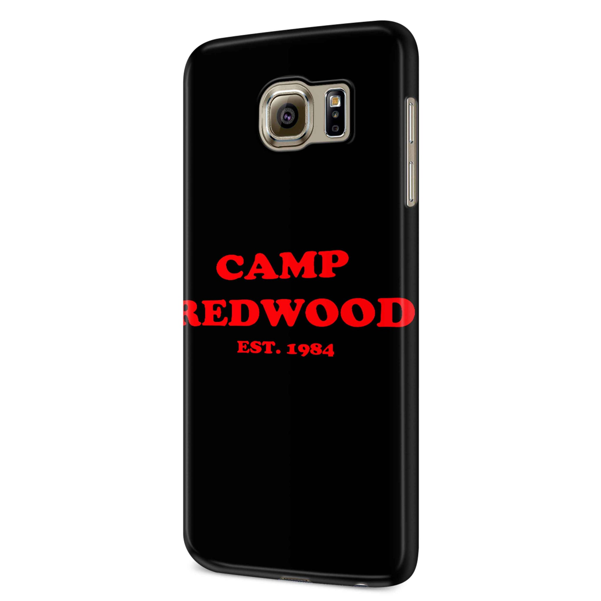 Camp Redwood 1984 Samsung Galaxy S6 S6 Edge Plus/ S7 S7 Edge / S8 S8 Plus / S9 S9 plus 3D Case