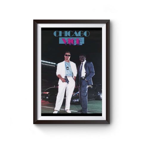 Chicago Vice 80's Sports Poster