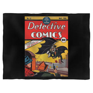 Comic Batman Vintage Blanket