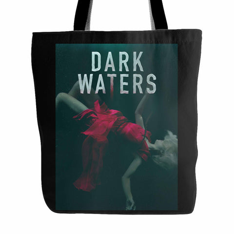 Dark Waters Murder In The Deep Tote Bag