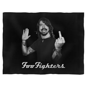 Dave Grohl Finger Nature Blanket